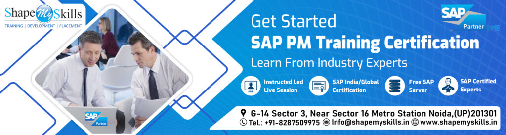 SAP PM Online Training in noida