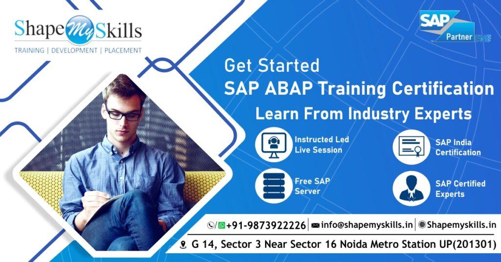 best sap abap training in noida