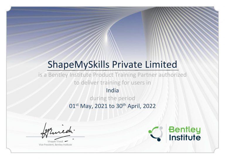 Bentley Partner Shapemyskills - 08287509975