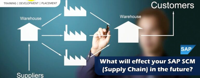 What will Effect your SAP SCM (Supply chain) in the future?
